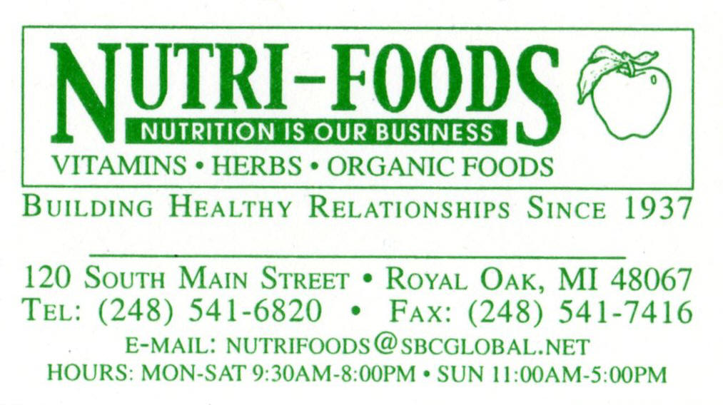 Health Food Store Royal Oak Mi